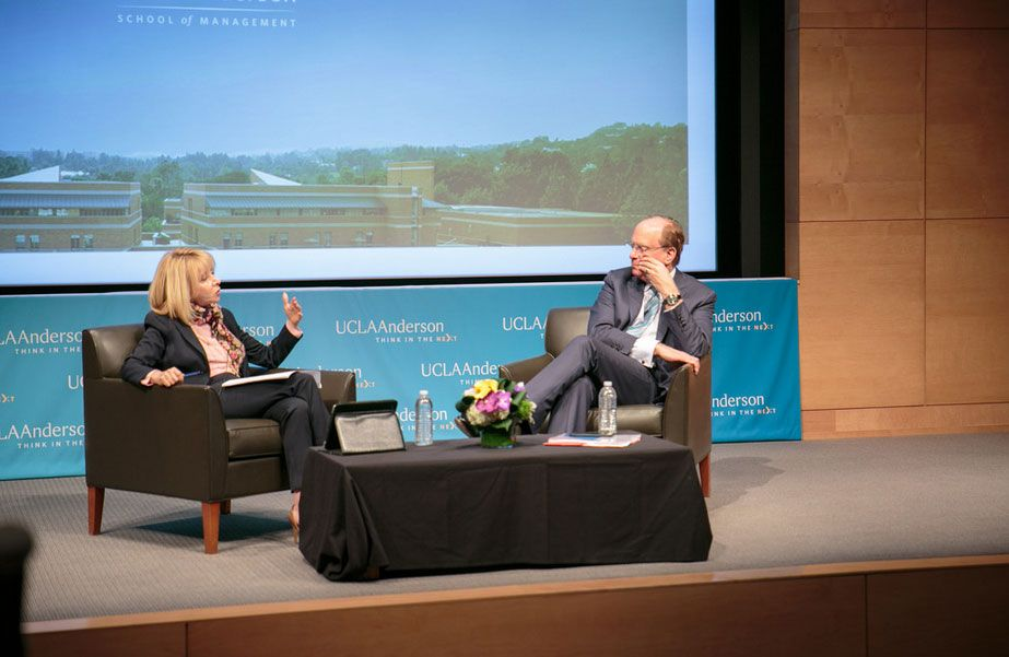 Judy Olian and Laurence D. Fink