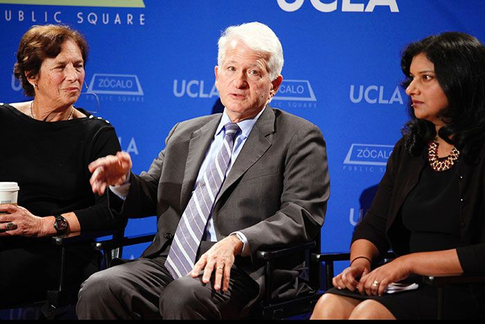 Panel members at a Zocalo-UCLA discussion