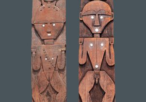Austronesian - Paiwan House Panels
