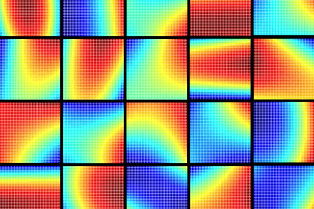 Parabola mosaic