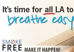Smoke-free ad