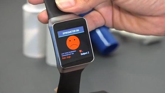 Smart watch sensor