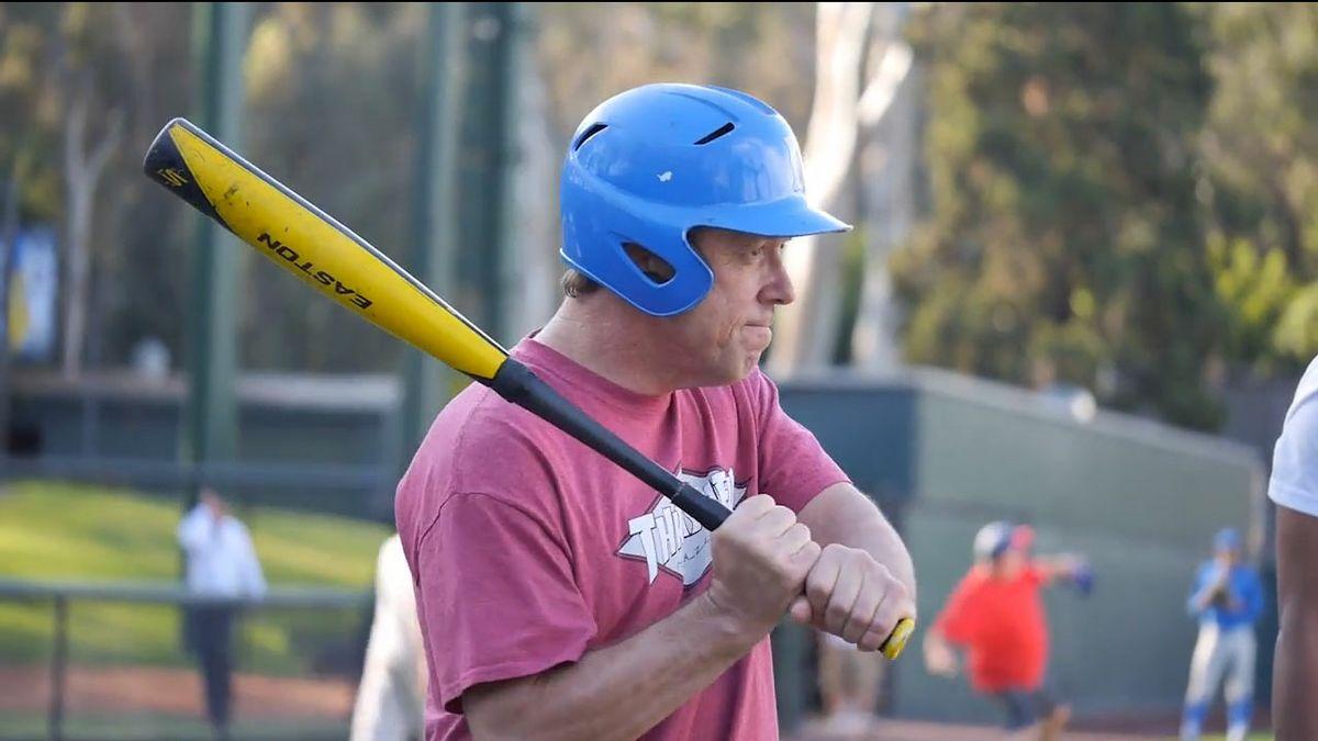 A veteran at bat