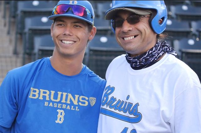 super popular f5358 0008c Veterans see action on field as UCLA baseball team hosts fun ...