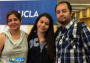 Bruin Day Idalys Perez and family