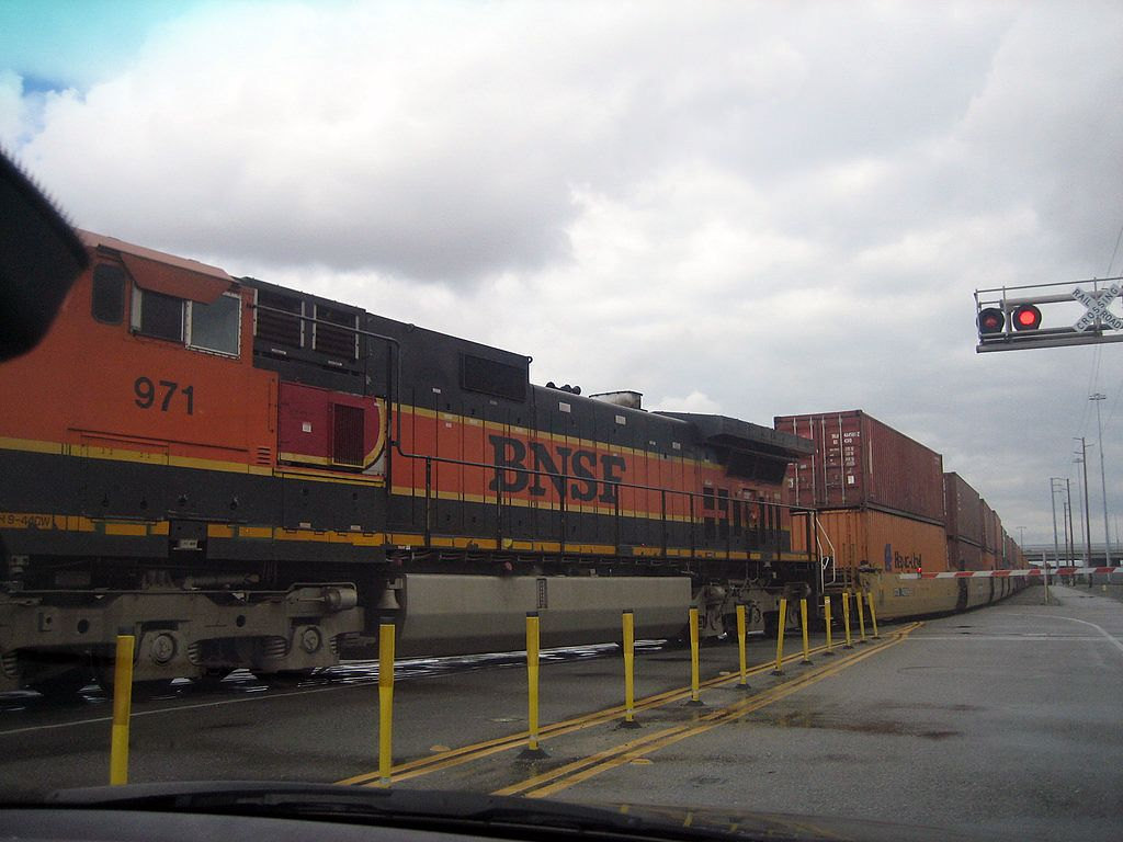 Port of Los Angeles railyard