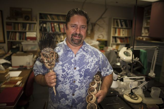 Tom Wake, director of the zooarchaeology lab