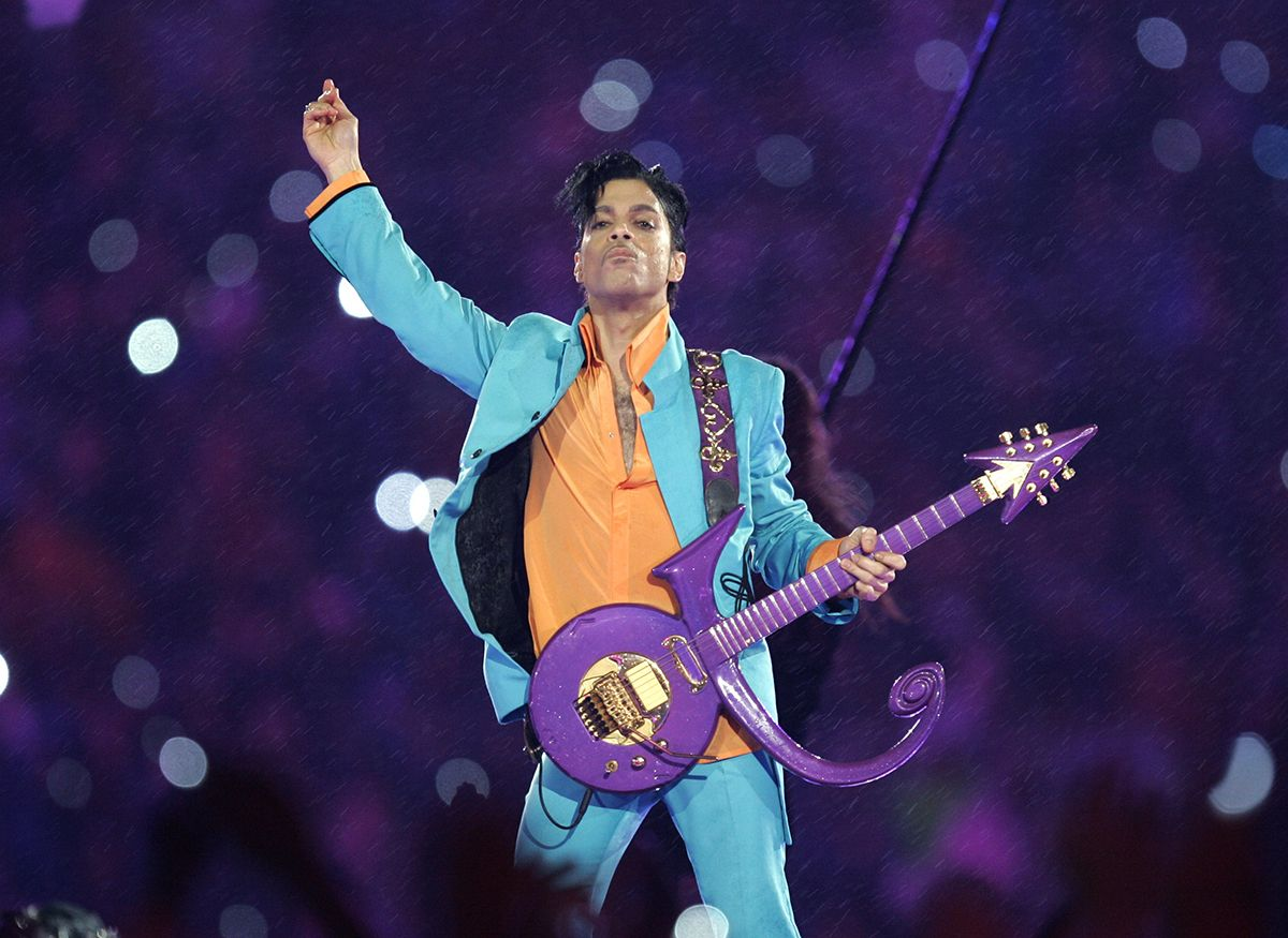 Prince at the Super Bowl
