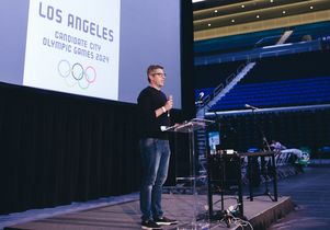 Casey Wasserman, chairman of LA 2024