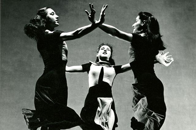 "Martha Graham Company dancers in ""Celebration,"" 1937"