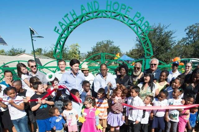 Faith and Hope Park opening