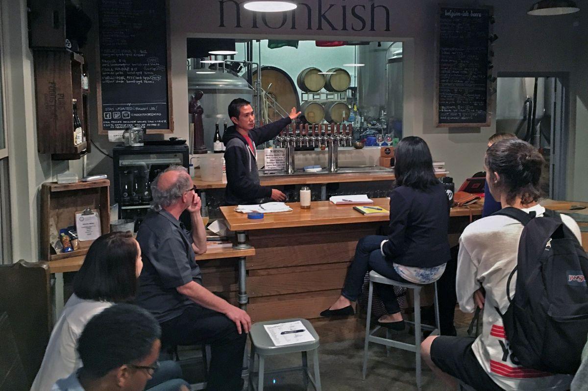 Monkish Tasting Room
