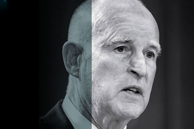 Jerry Brown in Blueprint