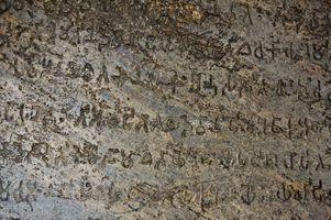 Ashoka edict Dhauli closeup photo credit J.W. Lehner