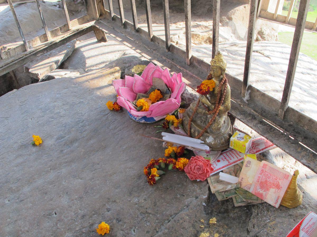 Ashokan edict Delhi and offerings