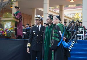 Dr. Vivek Murthy, a medical school graduate and Dr. Kelsey Martin