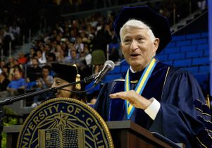 Chancellor speaks at commencement