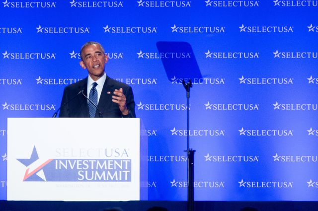 President Obama at SelectUSA summit