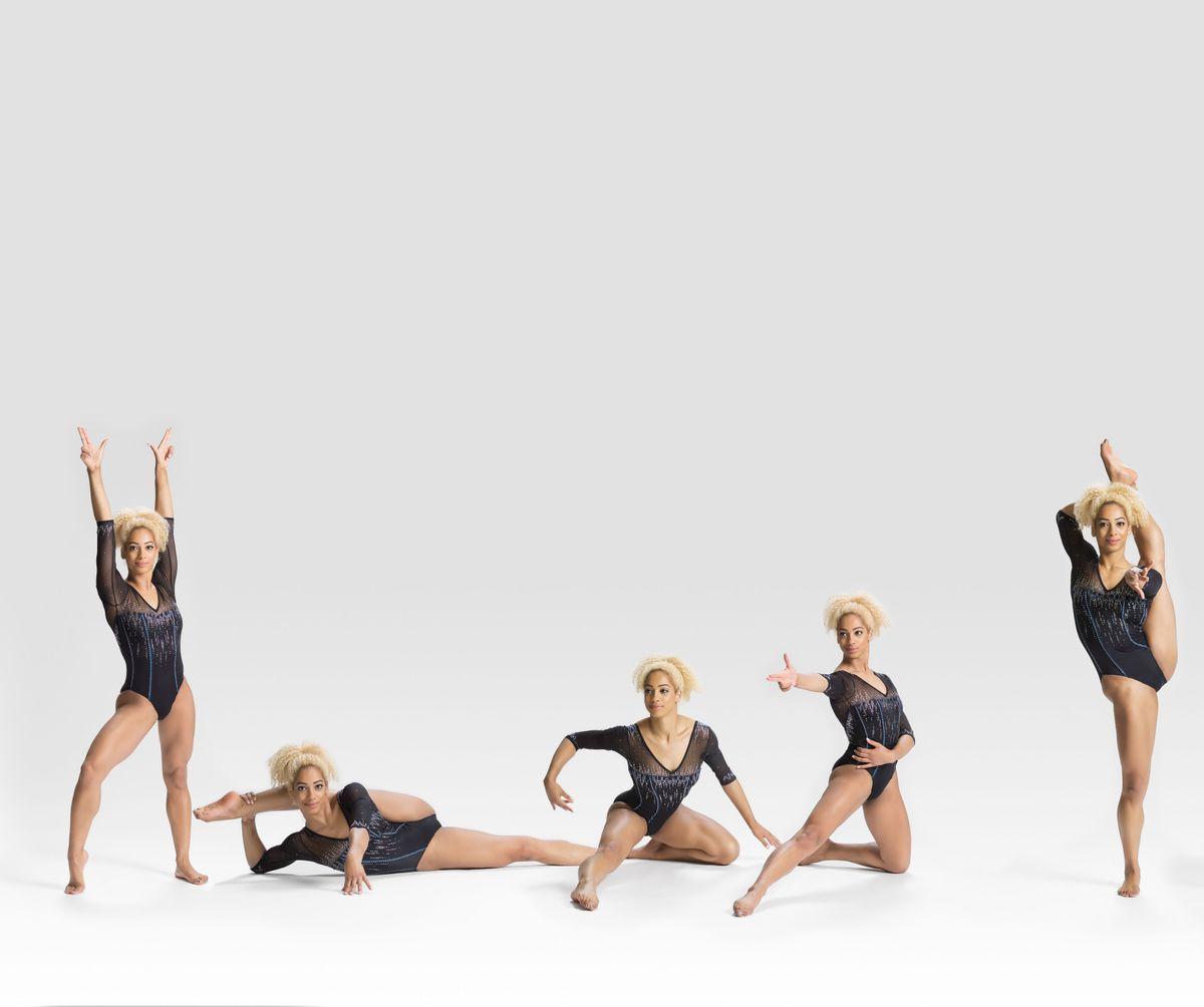 UCLA gymnast Danusia Francis