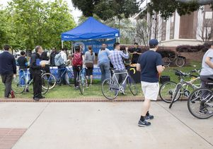 Click to open the large image: Bike Week at UCLA