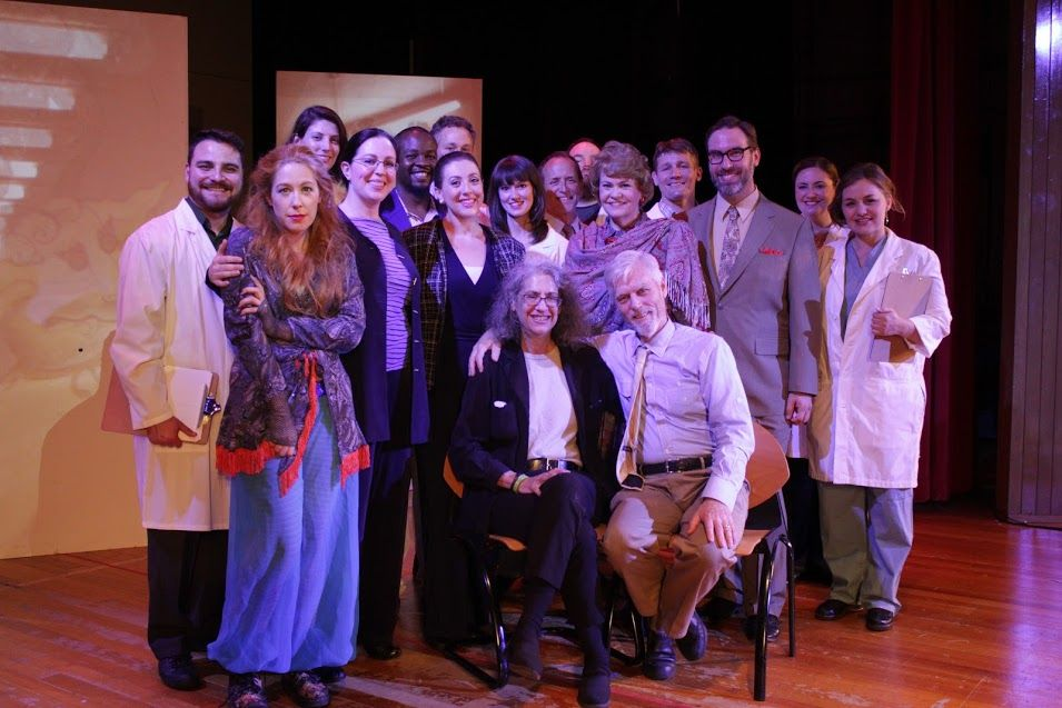 "Cast and librettists for ""The Center Cannot Hold"""