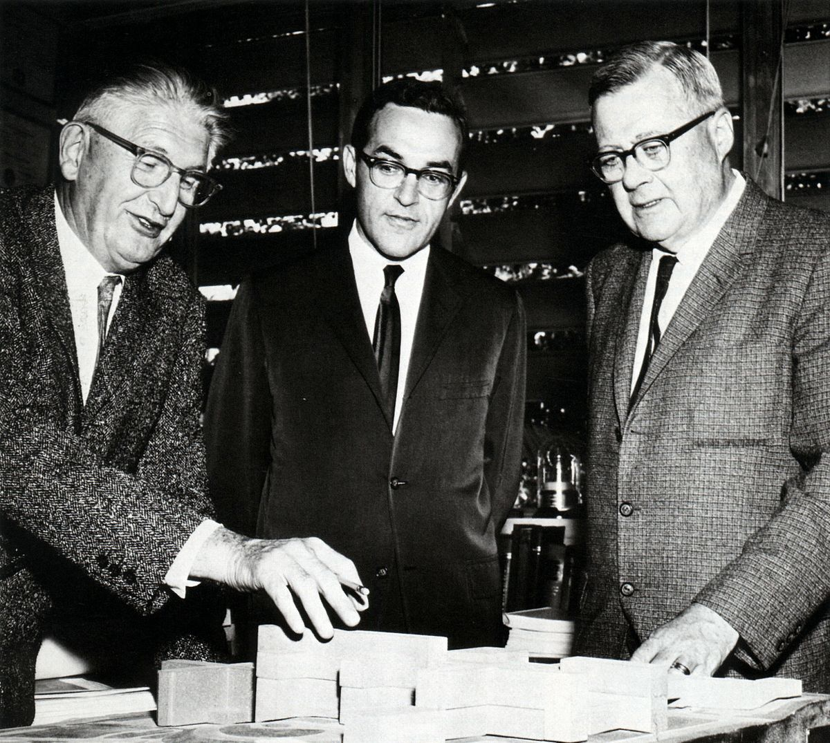 Stafford Warren, Sherman Mellinkoff, John Field