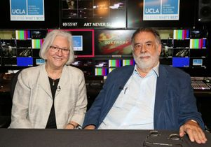 Teri Schwartz and Francis Ford Coppola