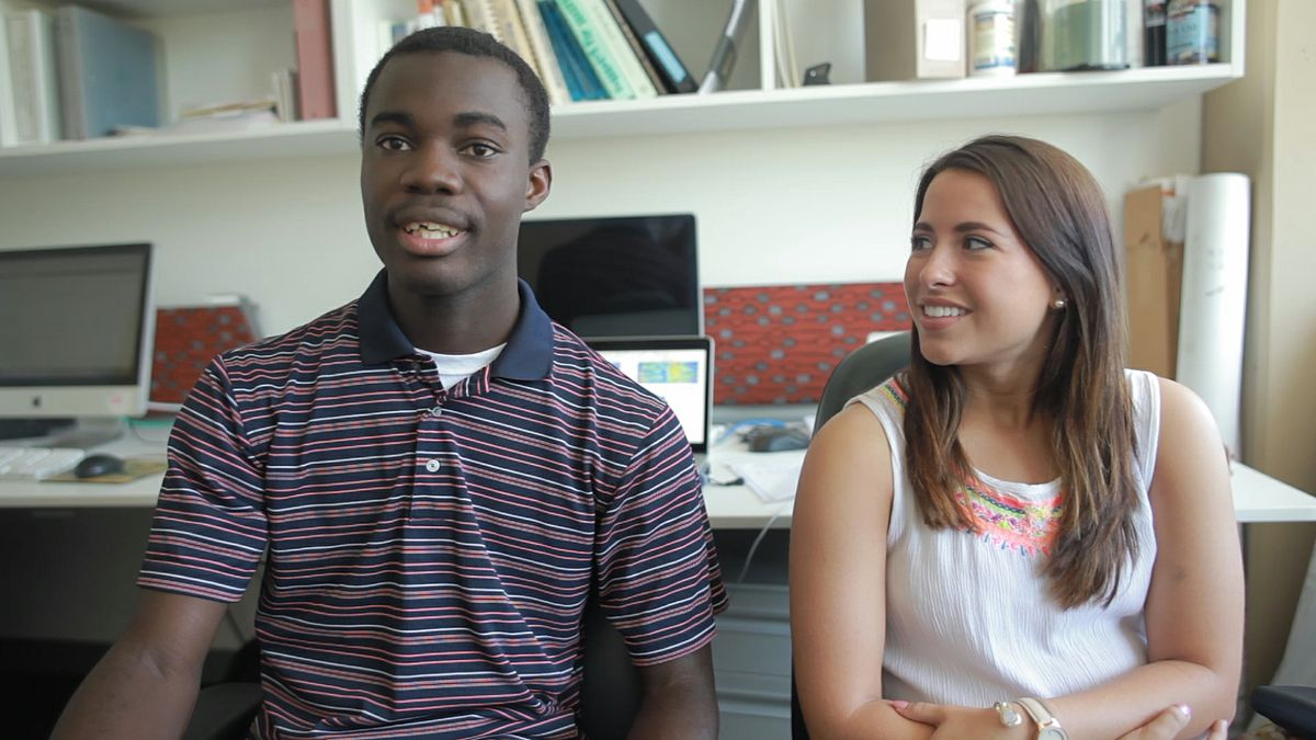 BIG summer research program students