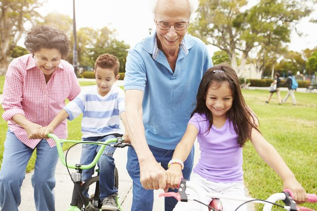 Latino grandparents