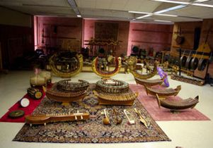 Click to open the large image: Thai instrument collection