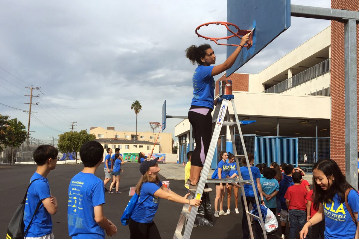 Volunteer Day 2016 Hoop