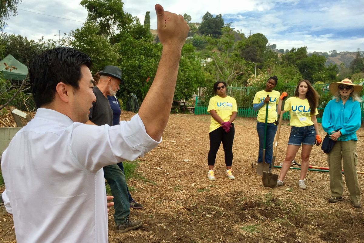 Volunteer Day 2016 at Wattles Farm