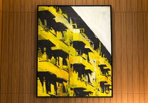 Click to open the large image: Yellow Building