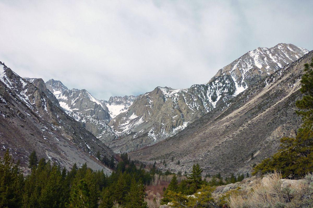 Sierra Nevada snow