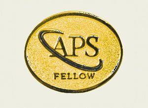 American Physical Society fellow logo