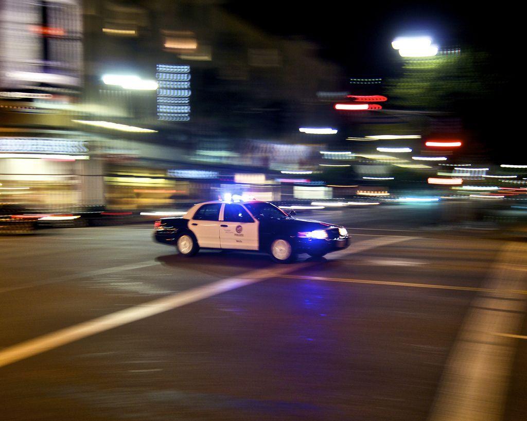 LAPD car