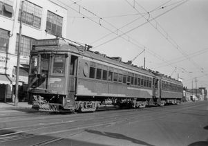Pacific Electric Railway Red Car