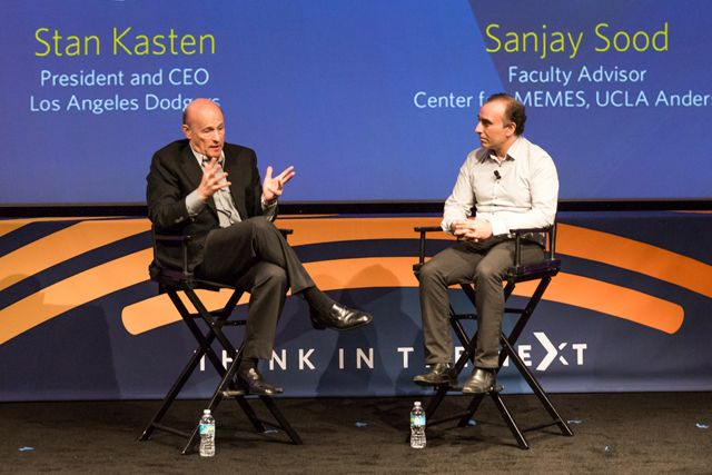 Stan Kasten in conversation with Sanjay Sood