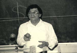 Isadore Rudnick teaching