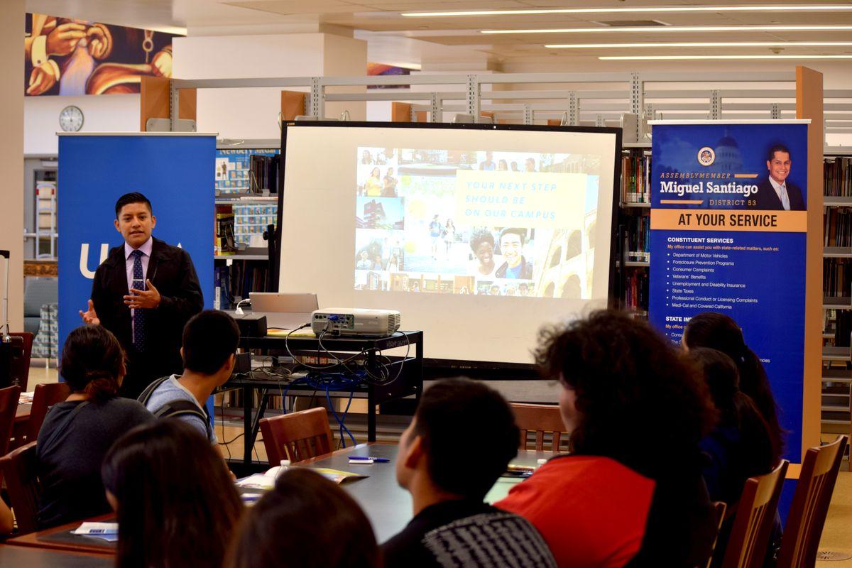RFK UCLA Community School admissions visit Fall 2017