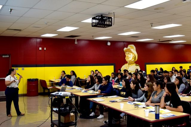 Roosevelt High School admissions visit Fall 2017