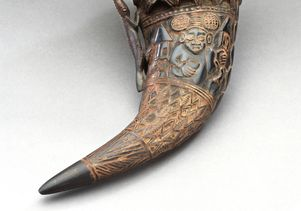 Dinner with Kings Drinking horn