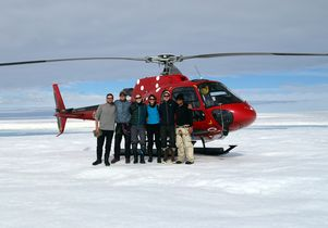 Click to open the large image: Greenland research team