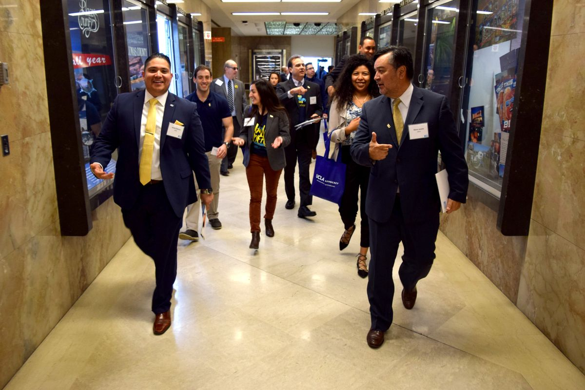 UCLA advocates