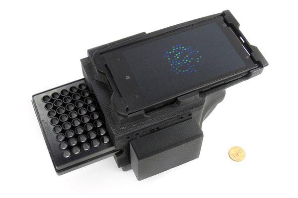 Cellphone DNA scanner