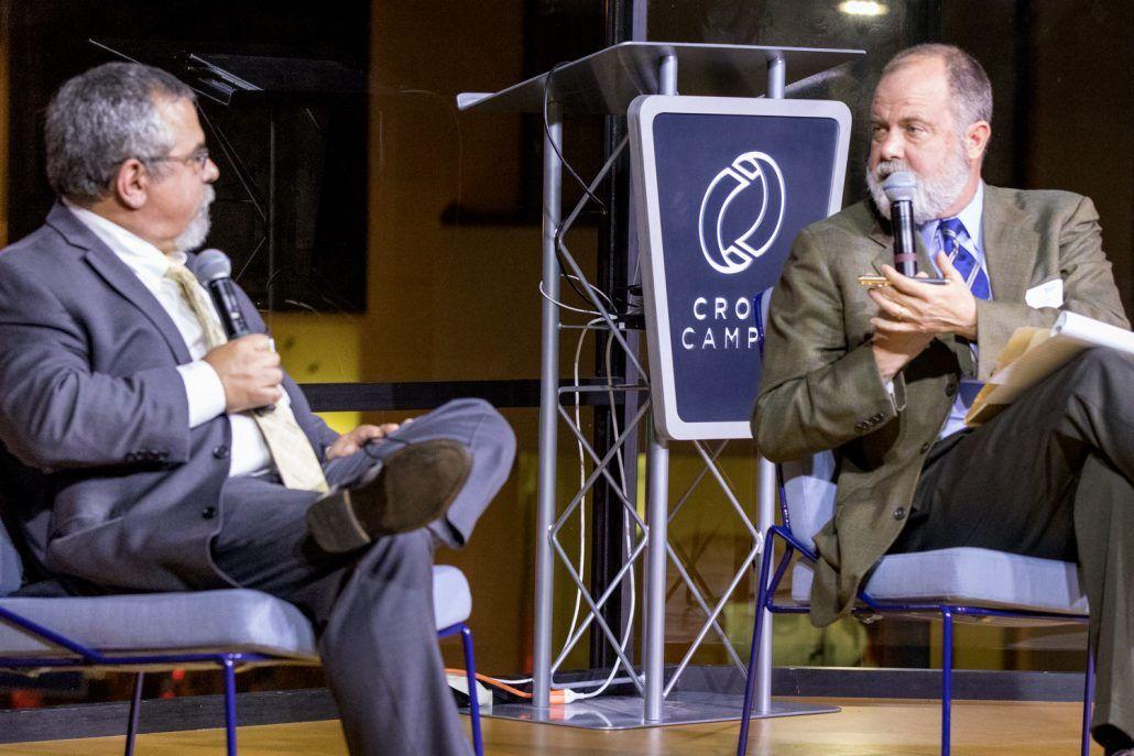 Gary Segura and Jim Newton