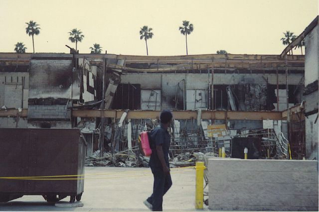 Los Angeles uprising aftermath