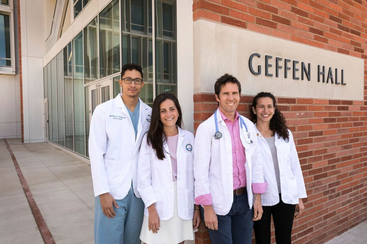 David Geffen Medical Scholarship scholars