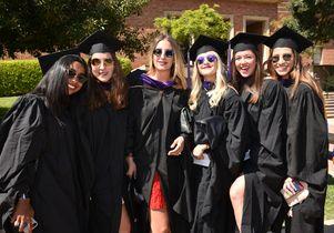 New graduates of UCLA School of Law