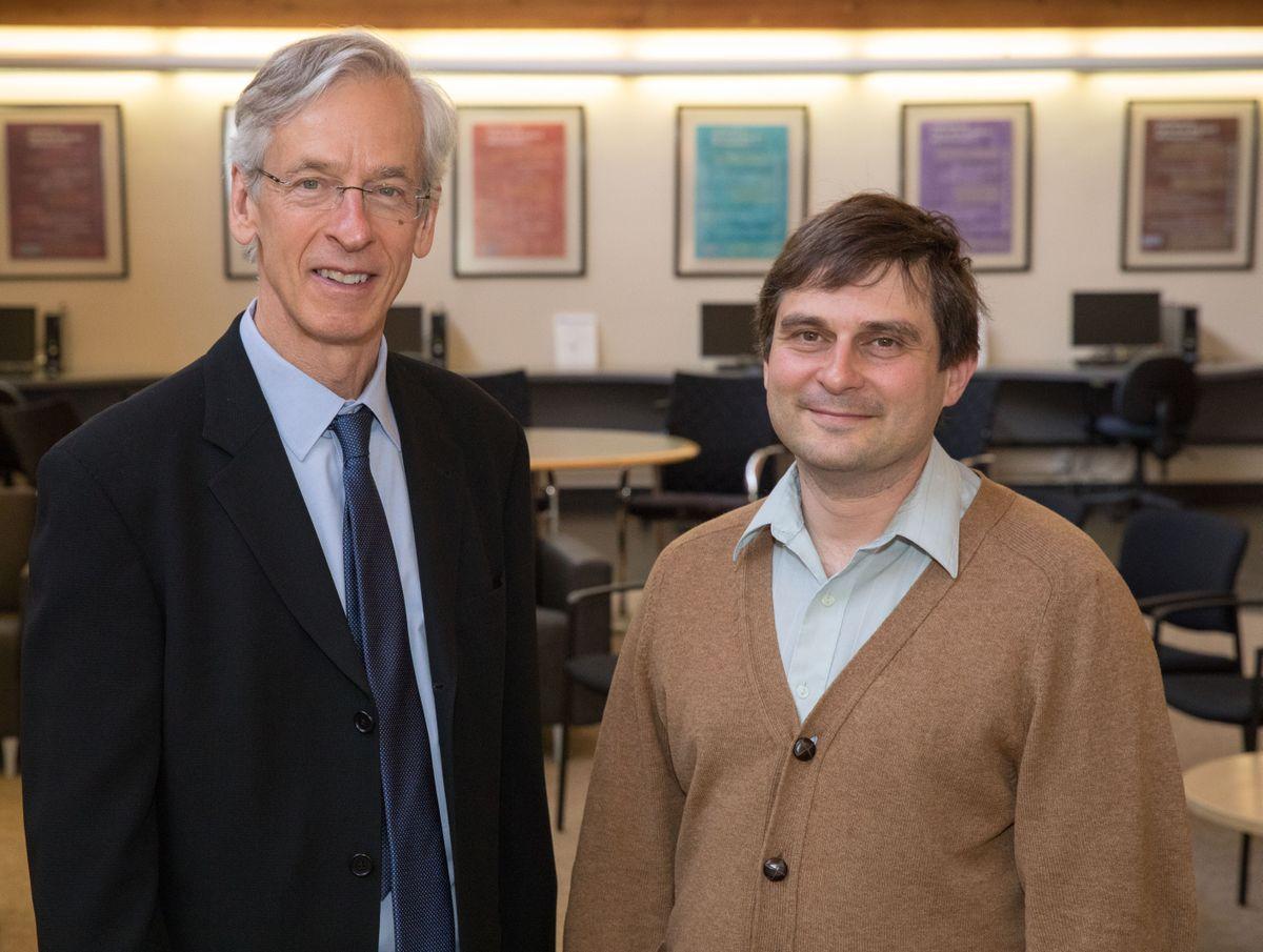 Russel Caflisch and Dimitri Shlyakhtenko